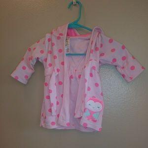 Carter's 0-9 month girl's bathrobe